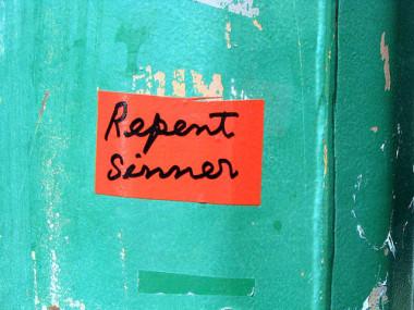 repent sinner