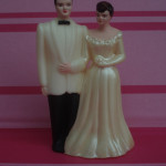 1950's Plastic Happy Couple