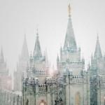 Salt Lake City Temple, Blizzard