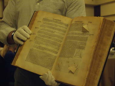 A 450 year old book of Euclid Geometries