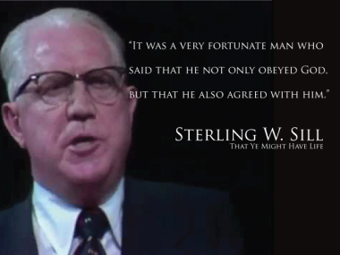 Sterling W. Sill - Agree With God